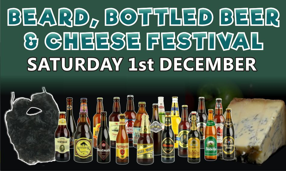 Slide 2 - Beard, Bottled Beer and Cheese Festival